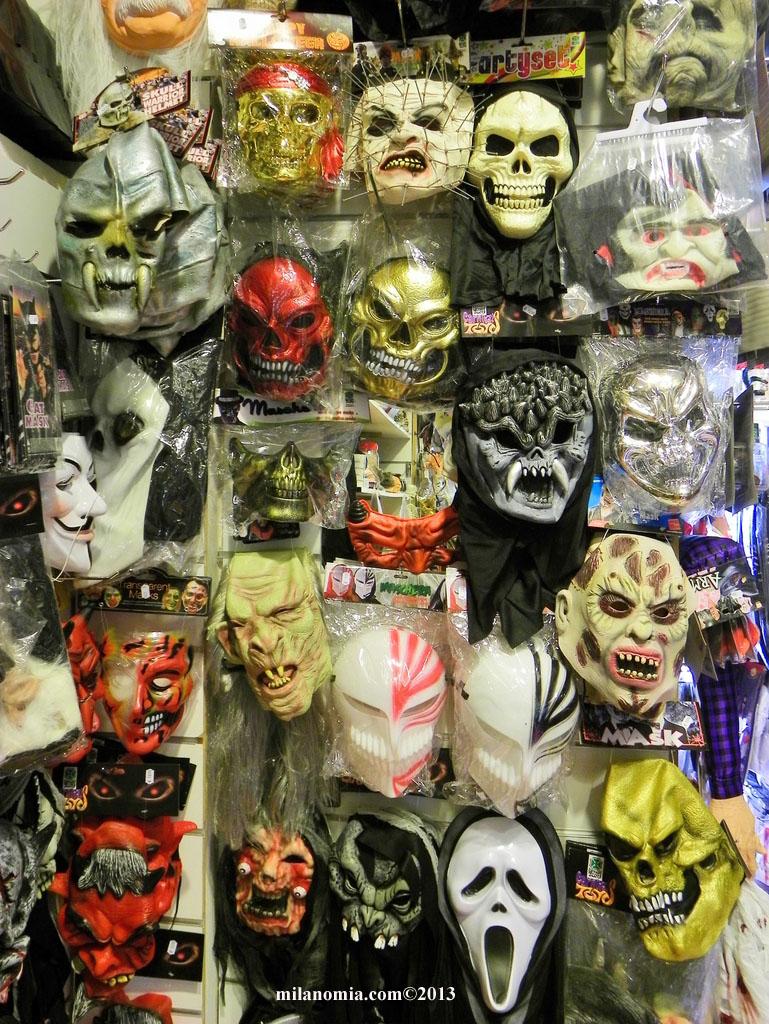Costumi Halloween Per Bambini Milano Maschere Di Halloween Milano