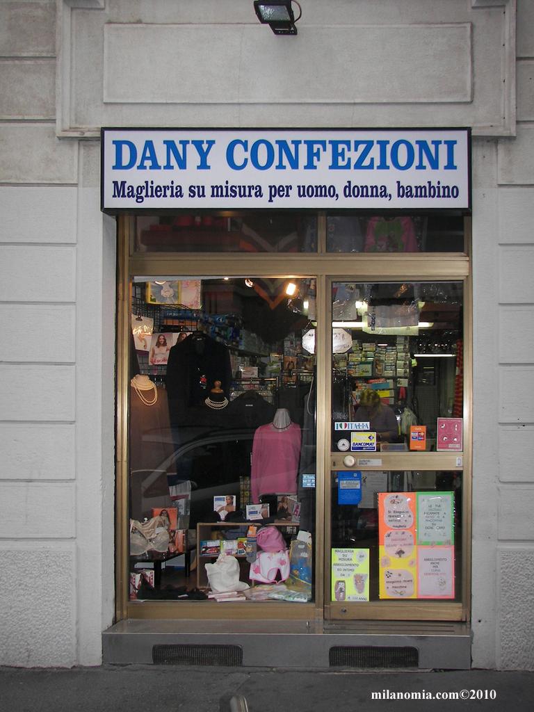 comprare popolare 901f2 94447 DANY CONFEZIONI Maglieria Milano - MilanoMia.com