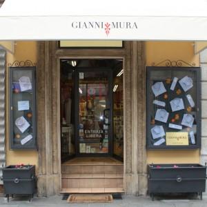 Gianni Mura Cravatte Camicie Milano logo