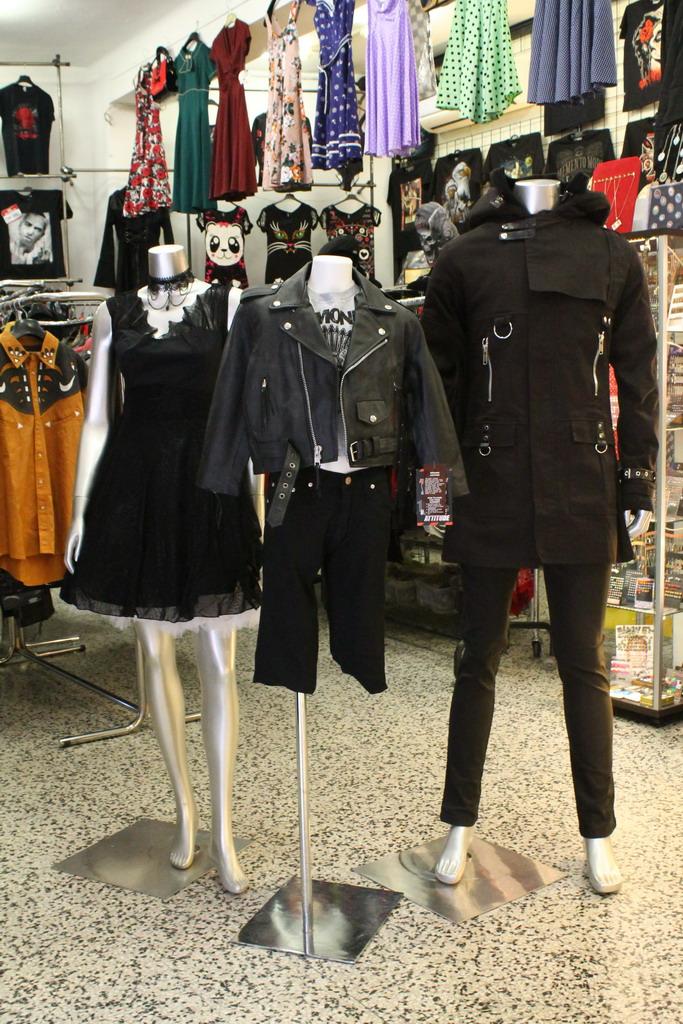 Carnaby Street Rock Bazar abbigliamento alternativo Milano