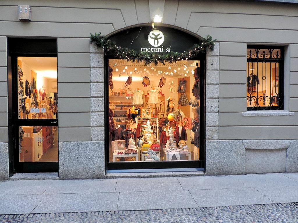 Meroni Si abbigliamento bambini Milano