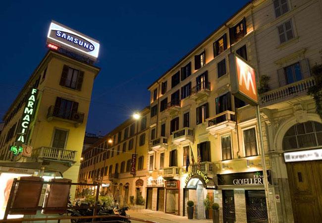 hotel fenice albergo tre stelle milano