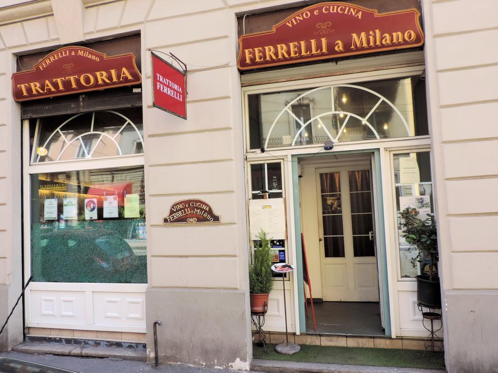 Trattoria Ferrelli a Milano ristorante carne pesce