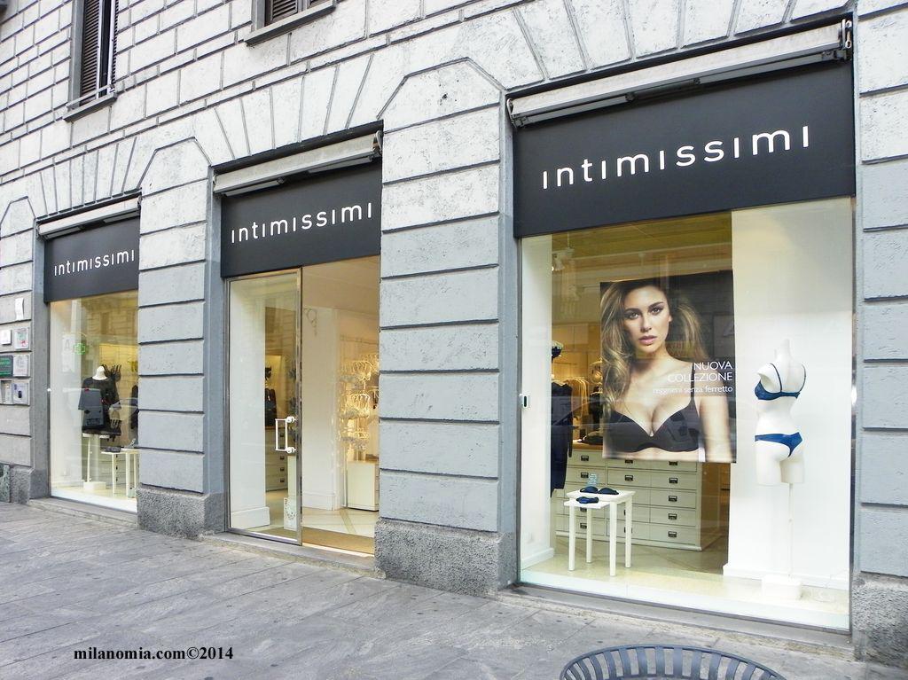 Intimissimi Biancheria intima uomo donna Milano