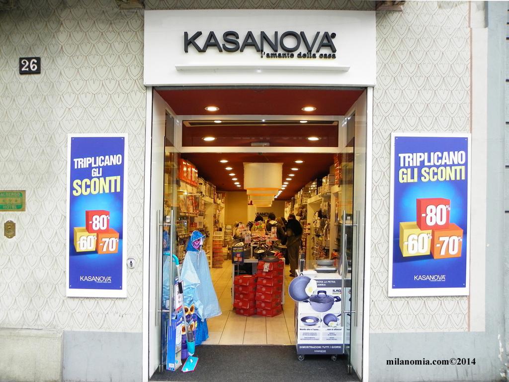KASANOVA casalinghi e articoli casa Milano - Milanomia.com