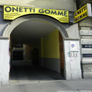 Onetti-gomme