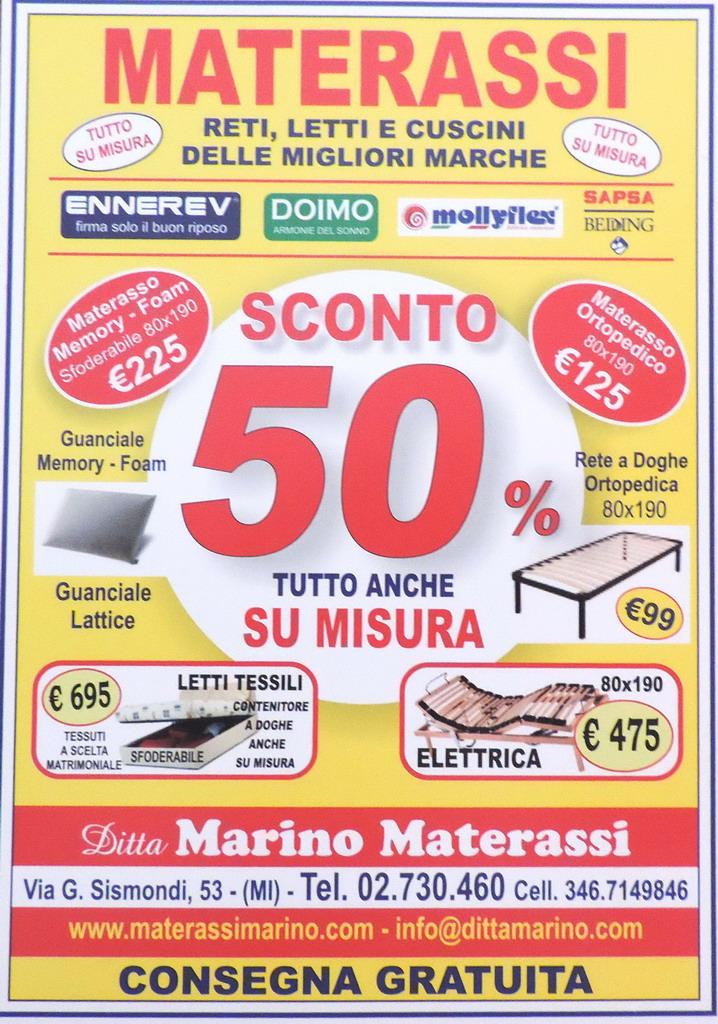 Marino Materassi.Materassi Marino Letti Milano Milanomia Com