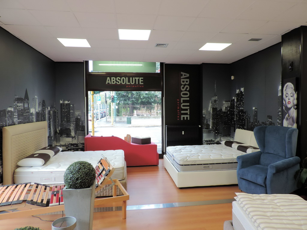 Centro esclusivo materassi Permaflex Milano