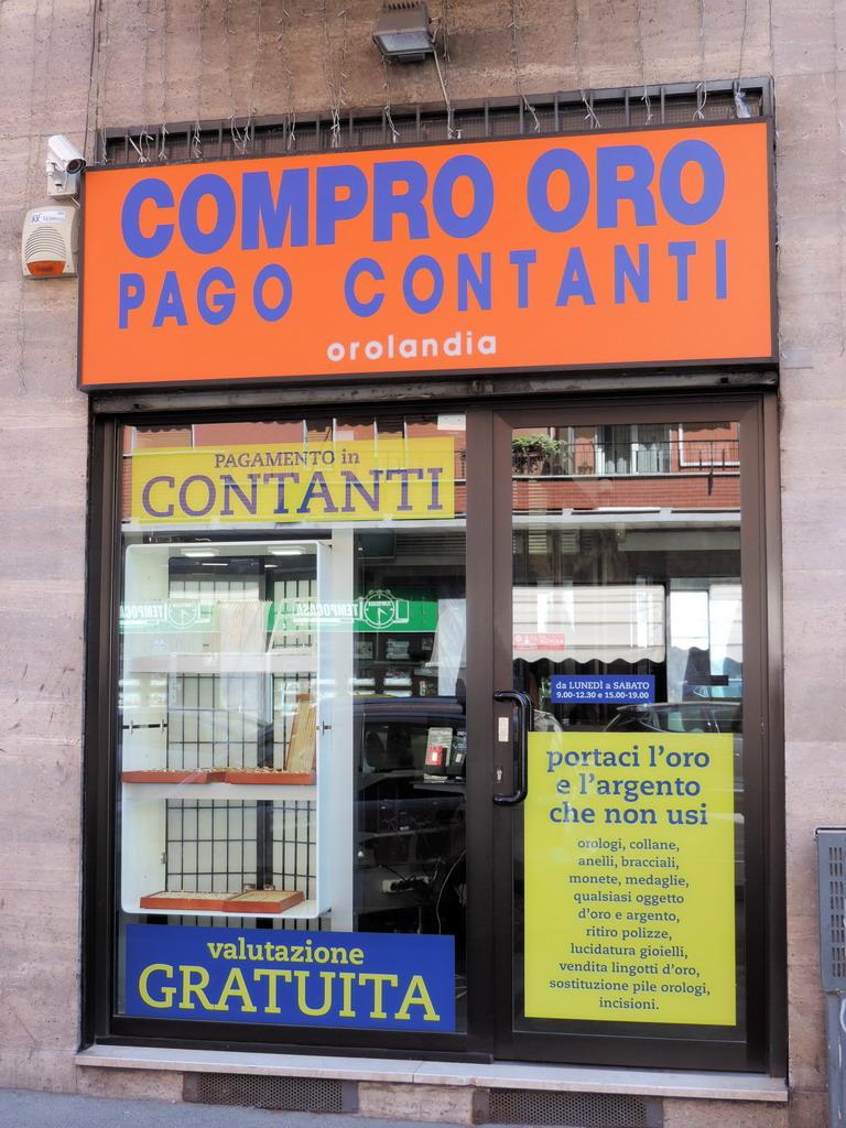 Compro Oro Milano Via Imbriani