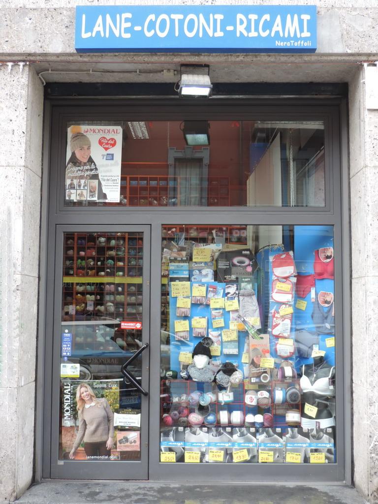 Nera Toffoli filati Milano