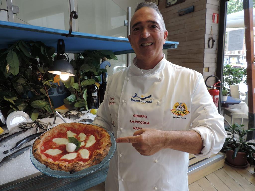 Anema e Cozze ristorante pizzeria via Orseolo Milano