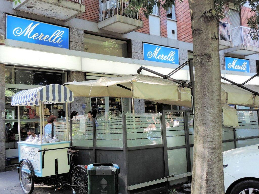 Gelateria Merelli Milano gelati artigianali