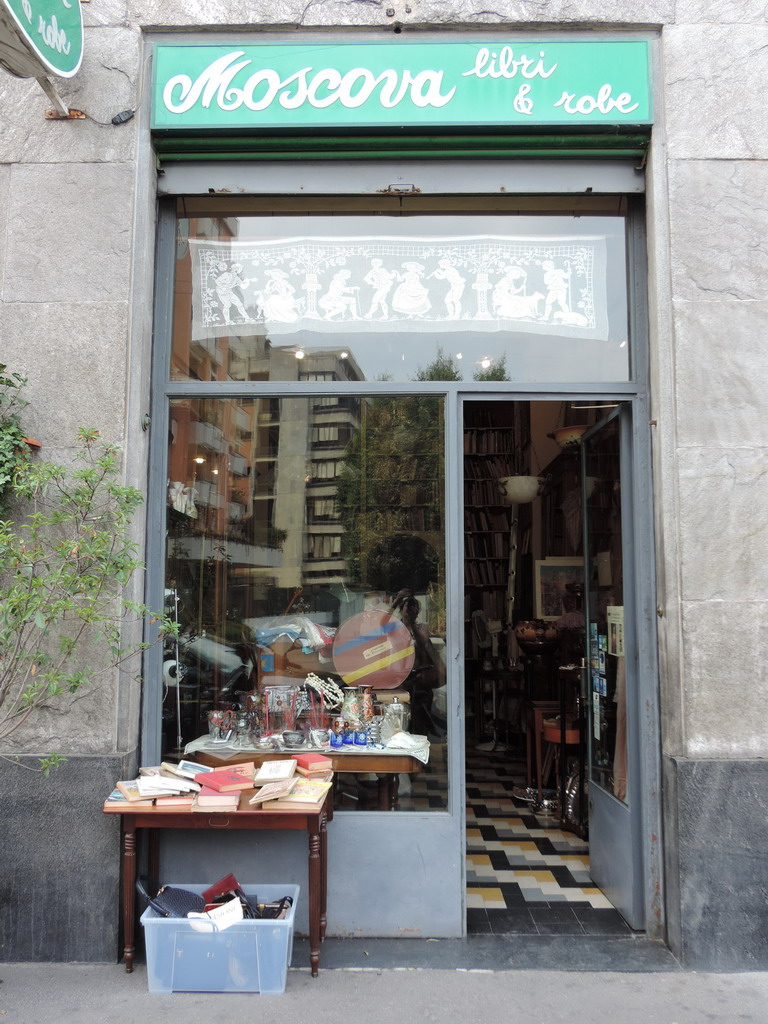Moscova Libri e Robe antiquariato Milano