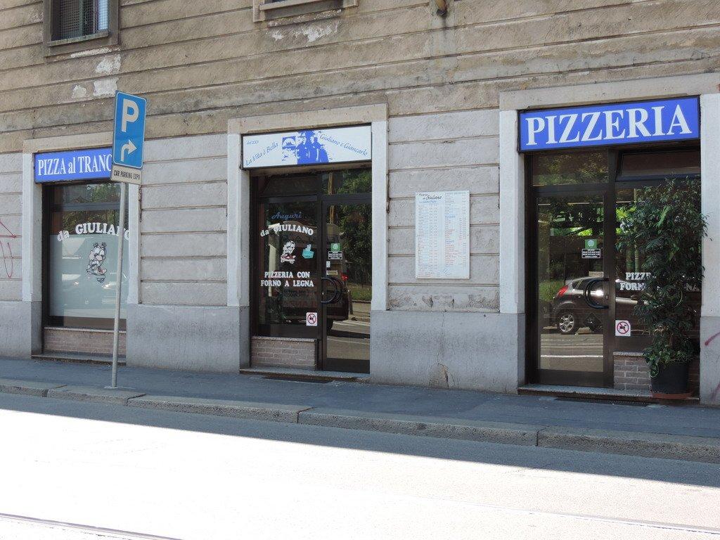 Pizzeria da Giuliano Via Mambretti Milano