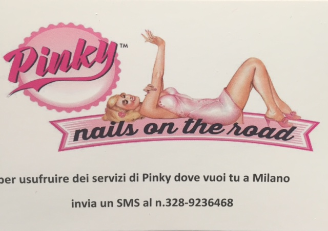 Pinky Nails on the Road Milano 04