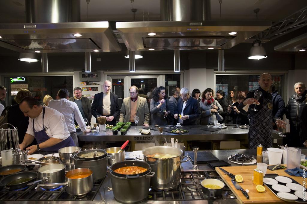 Teatro7 lab scuola cucina milano - Corsi cucina milano cracco ...