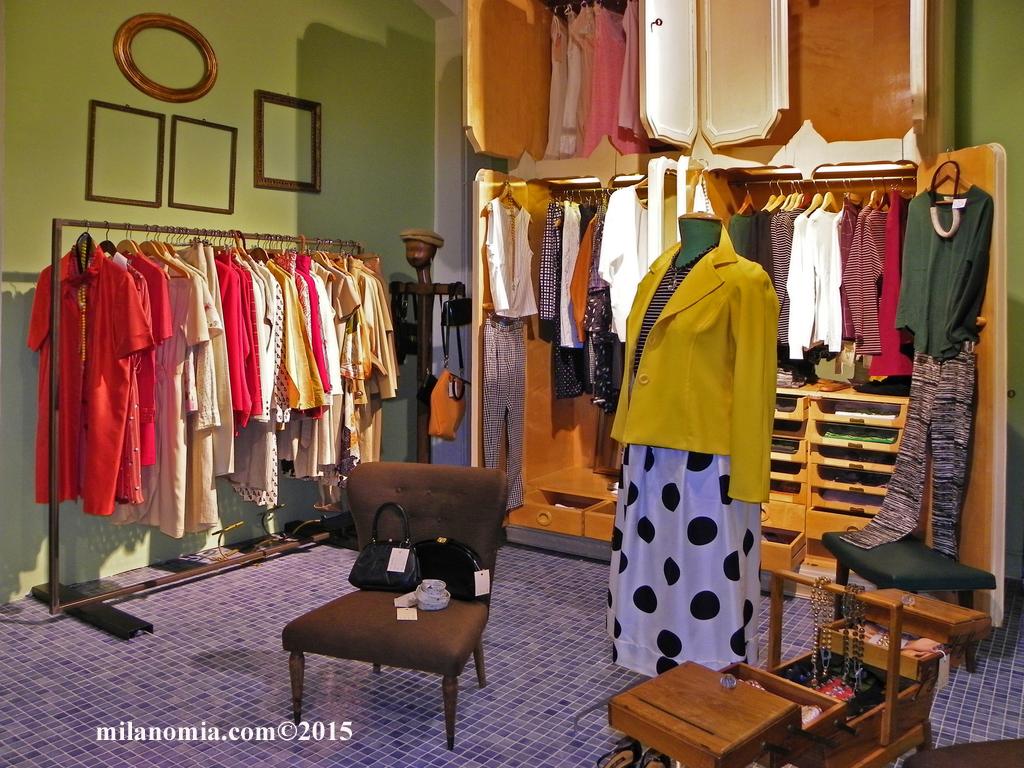 Particelle Complementari abbigliamento accessori Milano 03