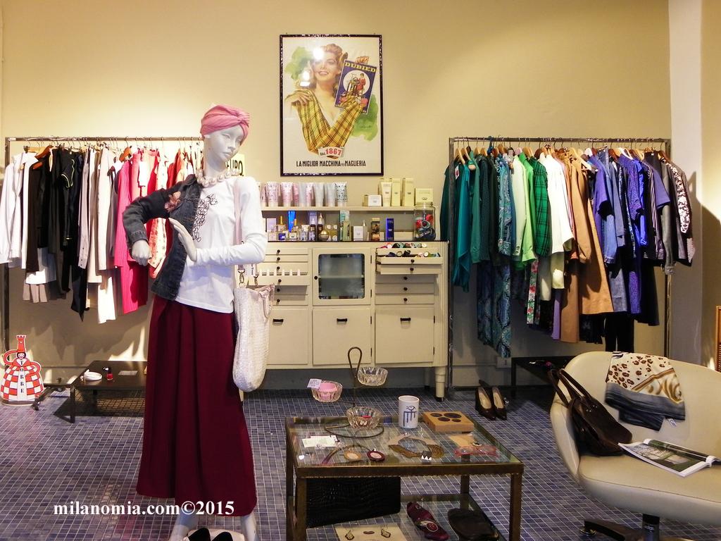Particelle Complementari abbigliamento accessori Milano 08