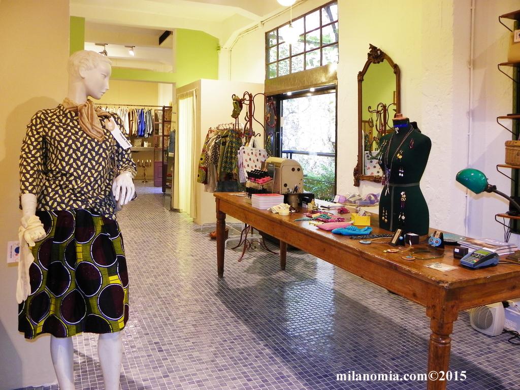 Particelle Complementari abbigliamento accessori Milano 09