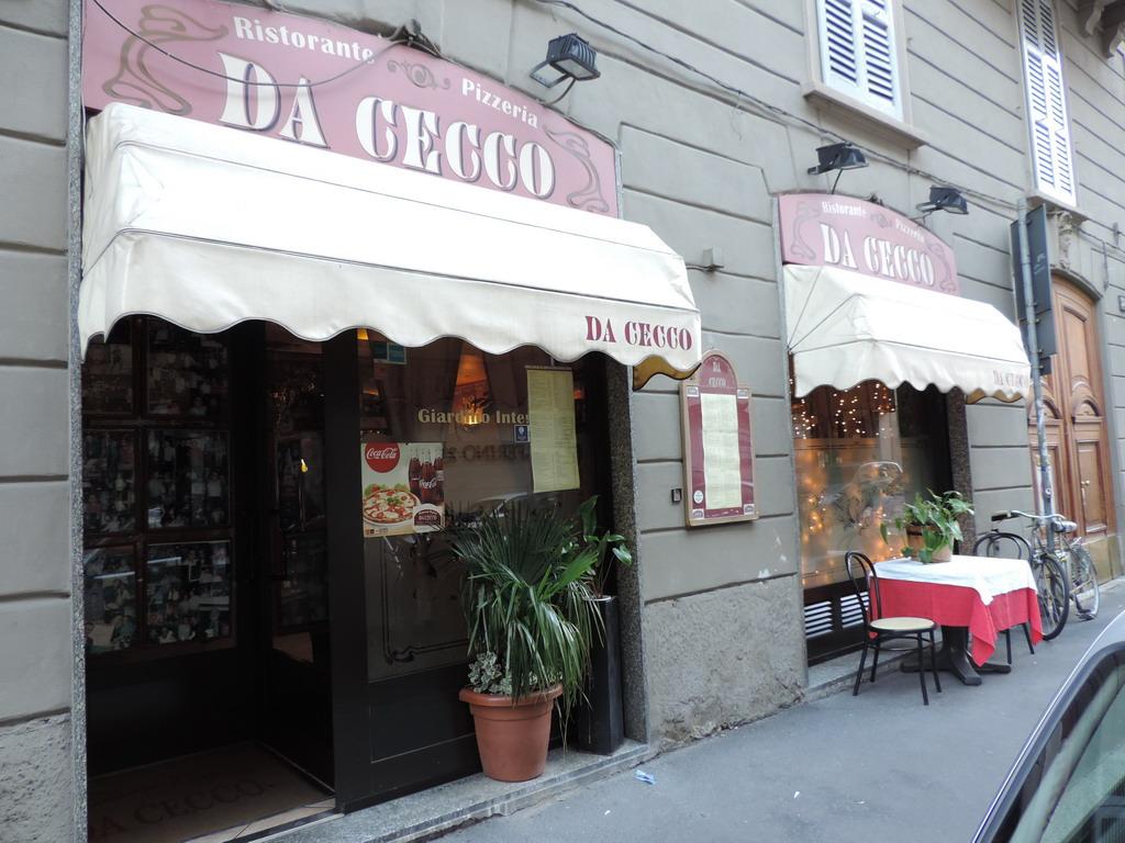 Ristorante Da Cecco via Solferino Milano