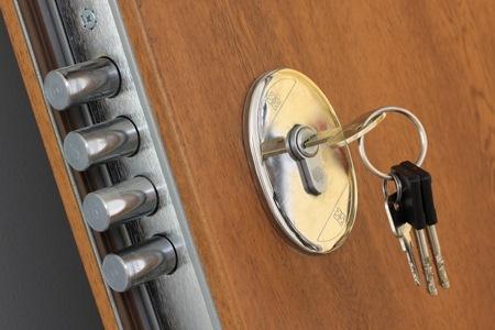 Sostituzione cilindro sicurezza europeo Milano Keso 4000s omega