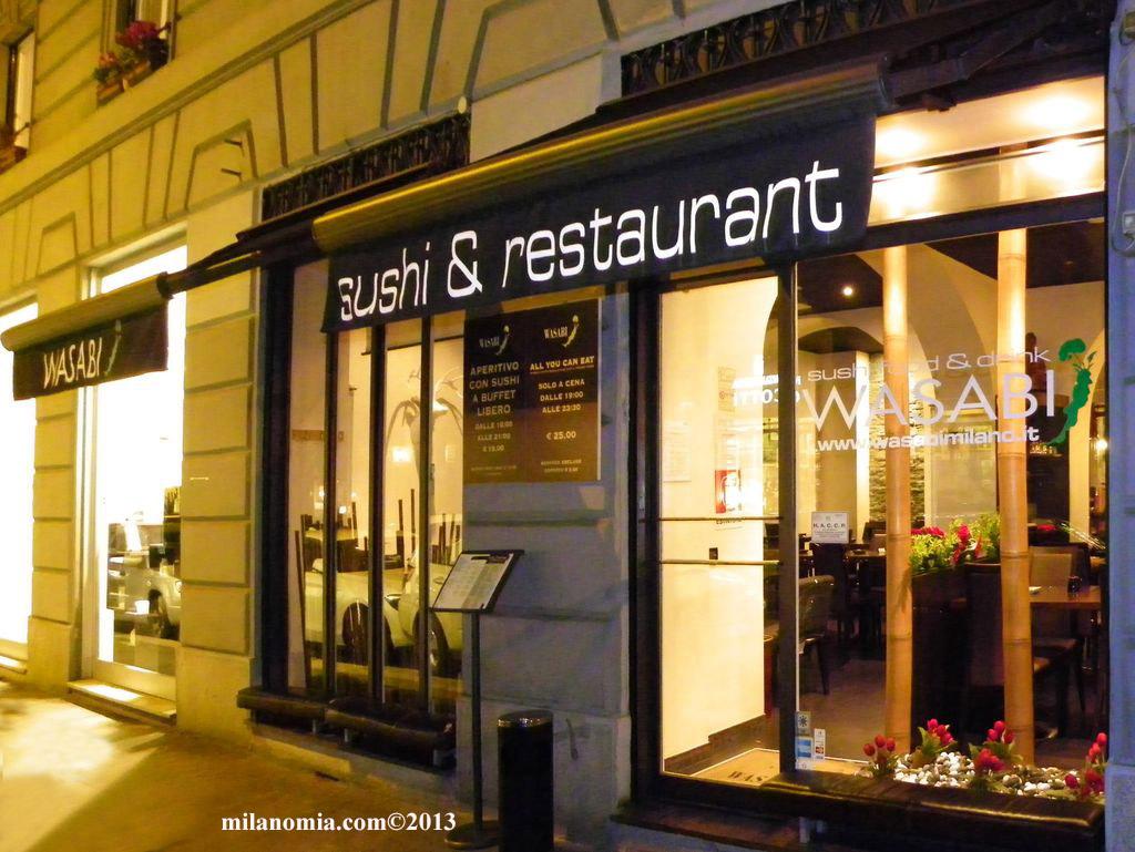 Wasabi Sushi Drink Restaurant Milano