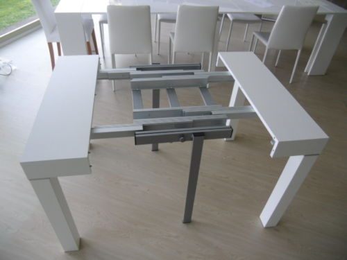 I Tavoli Consolle Allungabili : Emmestile tavoli consolle allungabili milano milanomia