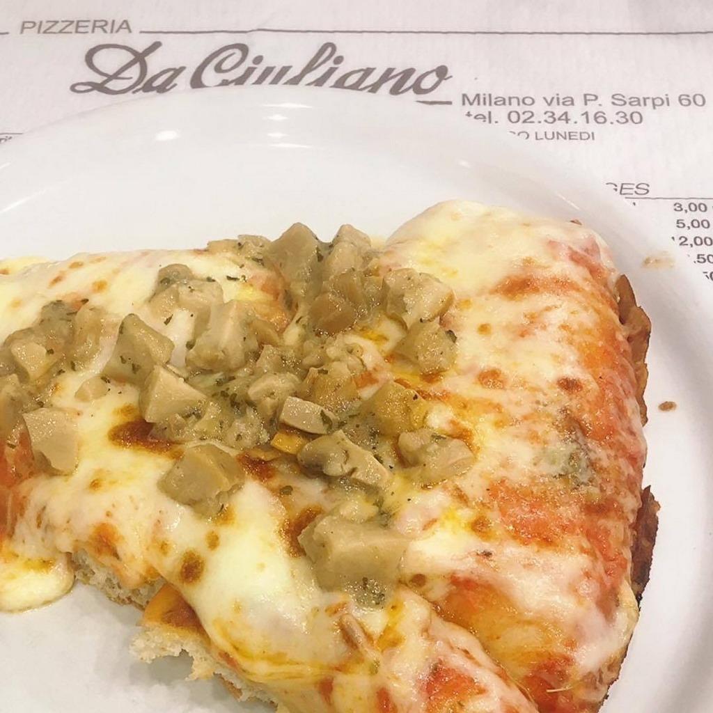 Pizzeria da Giuliano via Paolo Sarpi Milano