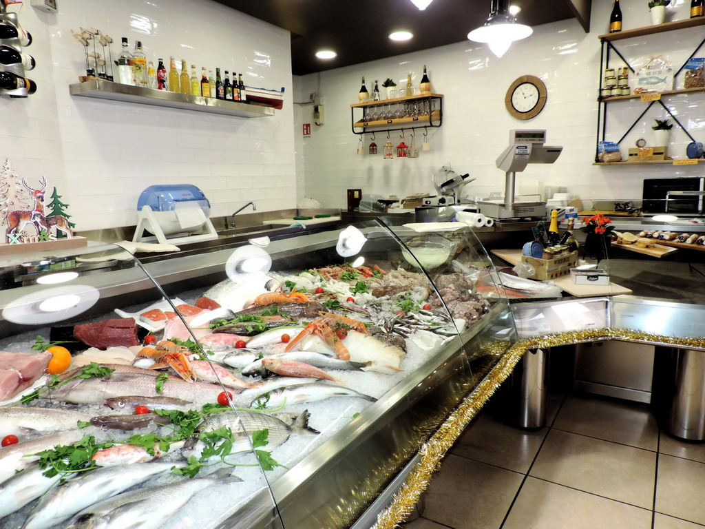 Pescheria Nero Seppia Senago pescato fresco gastronomia